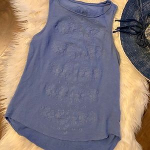 Lucky Brand Tops - Lucky Brand S/P 100% cotton tank top high/low